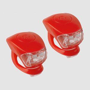 Lampset M-Wave Cobra IV, röd