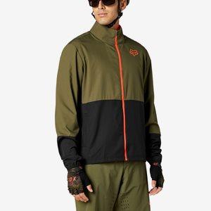 Cykeljacka Fox Ranger Wind Jacket Olivgrön