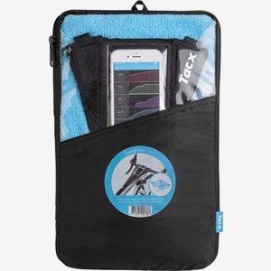 Svettskyddset Tacx Handduk+ Mobilskydd