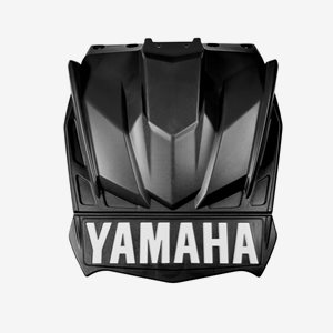 Yamaha SR Viper Stänklapp Svart
