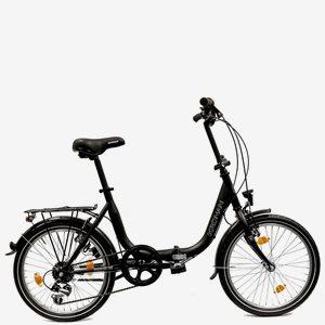 """Vikbar cykel Kronan Permis U6 20"""" svart 2022"""