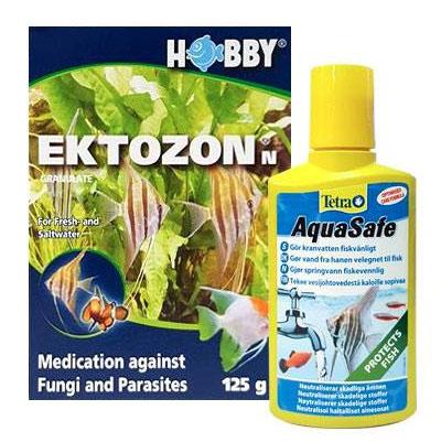 ektozon och vattenberedningsmedel