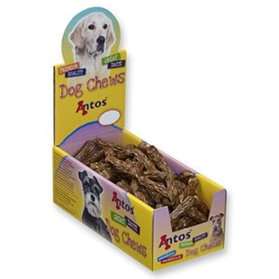 Hundsnacks korv av kyckling 5-6 cm - [100-pack]