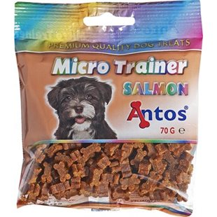 Microtrainer med lax 70g - [18-pack]
