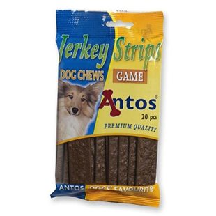 Hundsnacks Strips Vilt - 200g - [14-pack]