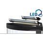 Juwel Trigon 350 liter LED - Hörnakvarium - Vit