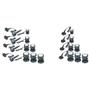 Boyu Dammbelysning Ljussensor 3St 4.5W Led 12V Vit
