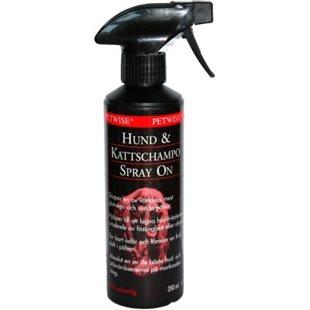 Petwise Spray-On Hund & Kattschampo - 350 ml