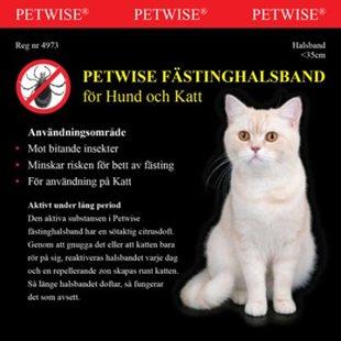 Petwise Fästinghalsband För Katt - <35 Cm