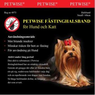 Petwise Fästinghalsband För Hund - Small - < 40 Cm