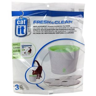 Kolfilter - 3L - Fresh& Clear - 3 st - Catit