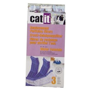 Kolfilter - Catit - 3 st  Vattenfontän