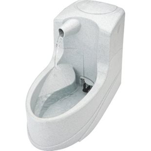 Drinkwell Vattenfontän - Mini - 1.2L - Vit