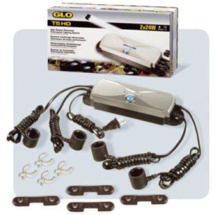 Lysrörshållare Glo T5 - 2X24W Ho