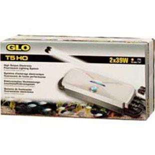 Lysrörshållare Glo T5 - 2X39W Ho