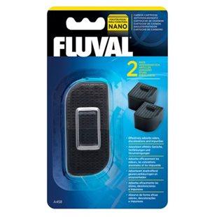 Fluval Nano - Kolfilter - 2-pack