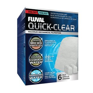 Fluval 304-307/404-407 - Fin - Filtermatta - 6 st