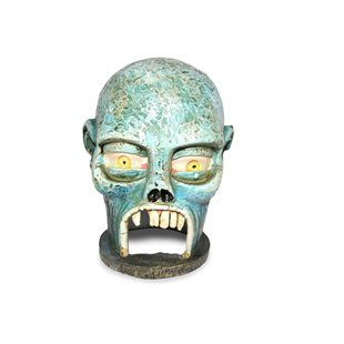 Zombie skull - Glow in the dark