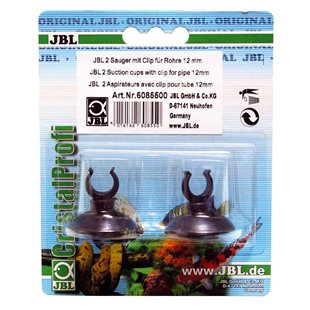 JBL - Sugkopp med clips 12/16 mm - 2-pack