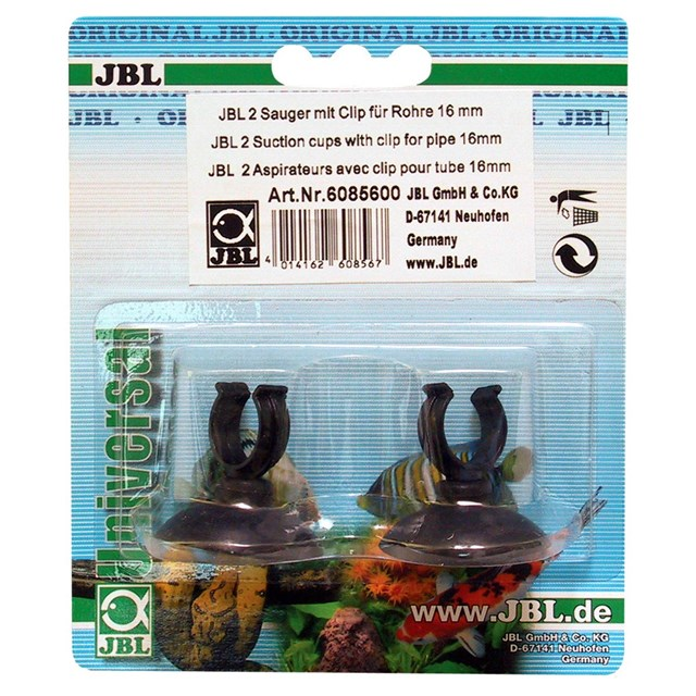 JBL - Sugpropp  med clips 16mm 2-pack
