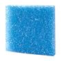 Blå grovporig filtermatta - 50x50x2,5 cm - 10 PPI