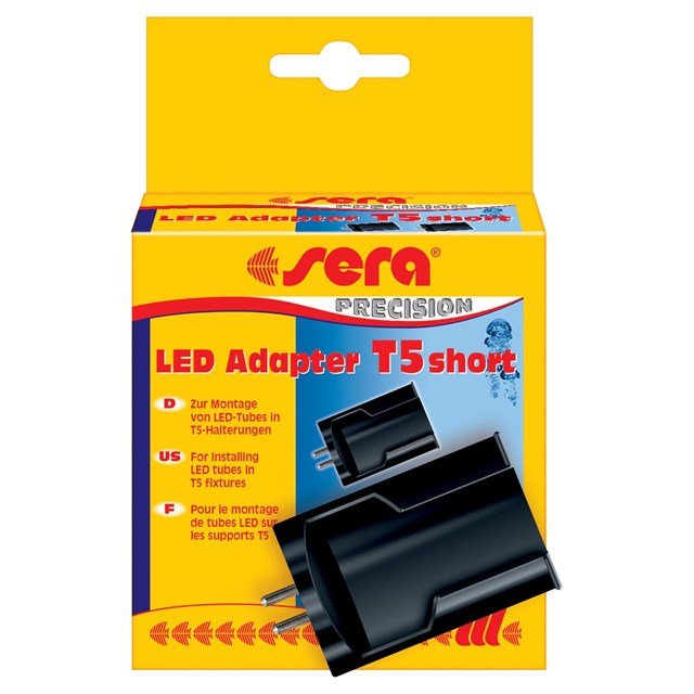 Adapter LED T5-belysning Sera 2-pack [Korta]