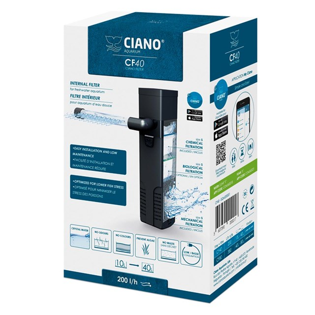 Ciano CF40 - Innerfilter 200 L/H