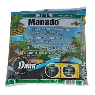 JBL Manado Dark - Bottensubstrat - 3 liter