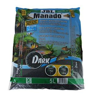 JBL Manado Dark - Bottensubstrat - 5 liter
