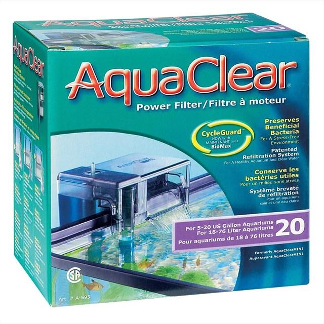 AquaClear 20 Powerfilter - Påhängsfilter