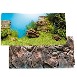 Juwel Poster 1 Plant / Reef - S - 60x30 cm