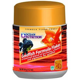 Ocean Nutrition - Goldfish Formula Flakes - 34 g