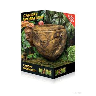 Exo Terra - Canopy Worm Dish - Matskålsklippa för maskfoder