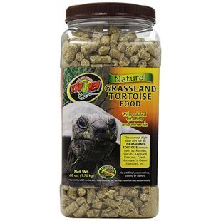 Zoo Med Natural Grassland Tortoise Food - 1.7 Kg