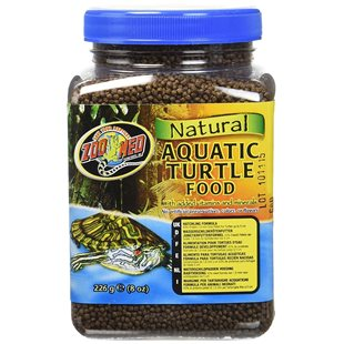 Zoo Med Natural Aquatic Turtle Food - 226 g - Hatchling Formula