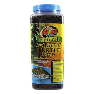 Zoo Med Natural Aquatic Turtle Food - 425 g - Hatchling Formula
