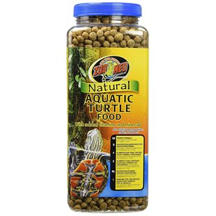 Zoo Med Natural Aquatic Turtle Food - 369 g - Growth Formula