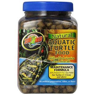 Zoo Med Natural Aquatic Turtle Food - 184 g - Maintenance Formul