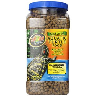 Zoo Med Natural Aquatic Turtle Food - 1.27 Kg - Maintenance Formula