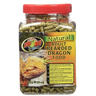 Zoo Med Natural Adult Bearded Dragon Food - 283 g