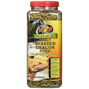 Zoo Med Natural Adult Bearded Dragon Food - 567 g