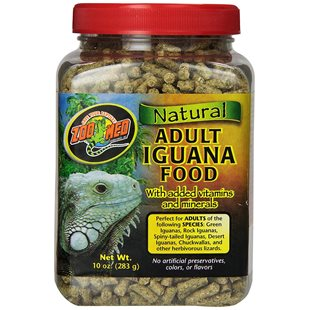 Zoo Med Natural Adult Iguana Food - 283 g