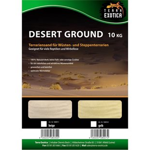 Terra Exotica - Desert Ground - Yellow - 10 kg - Terrariesand