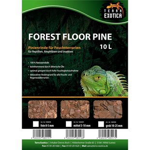 Terra Exotica - Forest Floor Pine 10 liter - 5-15 mm