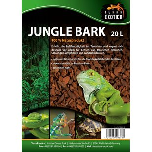 Terra Exotica - Jungle Bark 20 Liter
