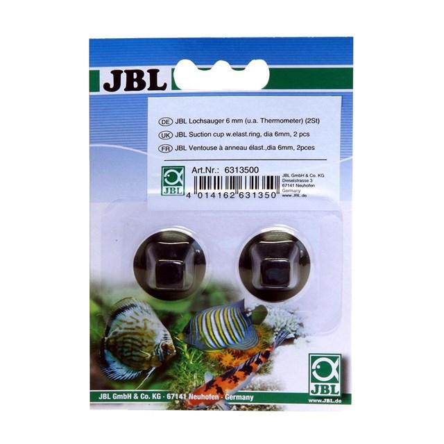 JBL - Sugkoppar till Premium termometer (6-7 mm) - 2-pack