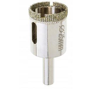 25 mm diamantborr för akvarieglas