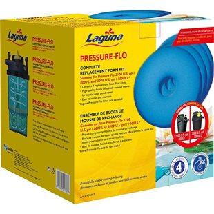 Filtermattor 4 st - Till Laguna Pressure 8000/10000 Tryckfilter