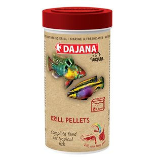 Dajana - Krill Pellets - 250 ml