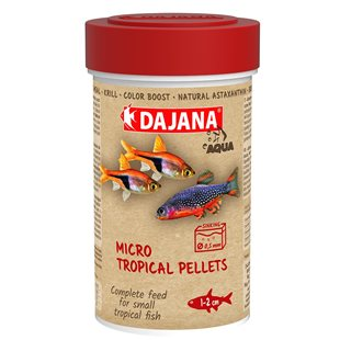 Dajana - Micro Tropical Pellets - 250 ml